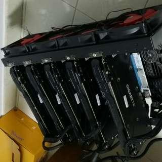 GTX1080 Mining Rig