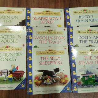 Ushone Farmyard Tales For Jnr X 9 Books
