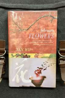 # Novel《New Book Condition + Hardcover Edition + 》Fan Wu - FEBRUARY FLOWERS