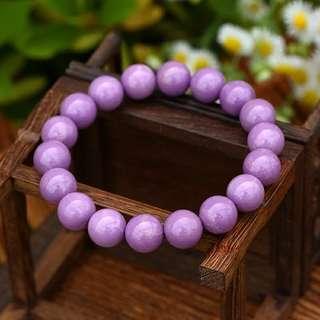 9mm 紫雲母手鏈