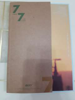 GOT7 7FOR7 Golden Ver. 韓版及台版專輯 連 Poster
