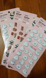 🚚 Stickers We bare bears