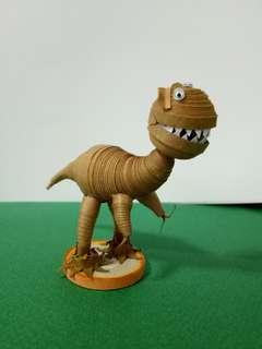 Handmake quilling dinosaur