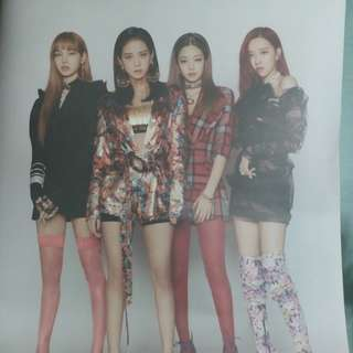 Blackpink Square Up官方海報