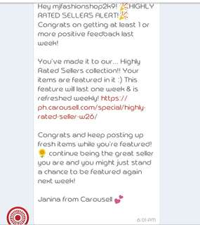 Thank you much Carousell 💕💕💕