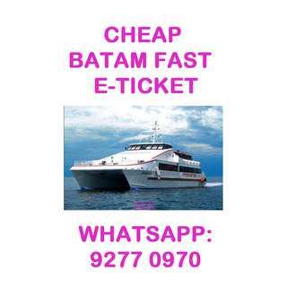 🚚 CHEAP Batam Fast E-tickets by Trustworthy Seller