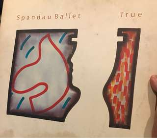 Spandau Ballet True album Vinyl Record