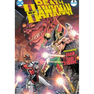 Death of Hawkman #1-6 complete miniseries (DC, Justice League, Superman, Batman, Wonder Woman)