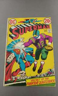 Superman early bronze age DC comics