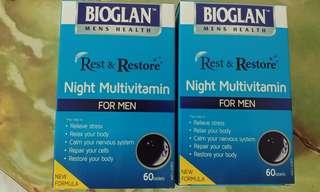 Rest & Restore Night Multivitamin for Men