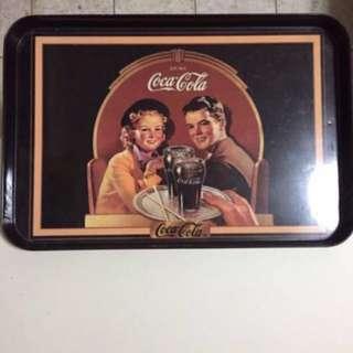 Coca Cola Vintage Tray