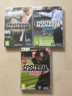 Football Manager 2013, 2014, 2015