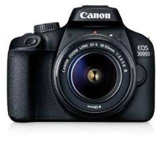 (NEW) CANON CAMERA 3000D