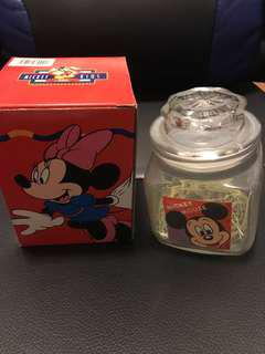 Disney Mickey mouse 玻璃瓶
