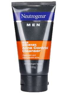 Neutrogena Men acne control cleanser