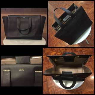 Giorgio Armani Formal Handbag Black