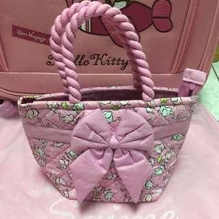 (免運)泰國 正版 NaRaYa 粉色 大象 手提包