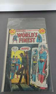 World's Finest comics dc bronze age