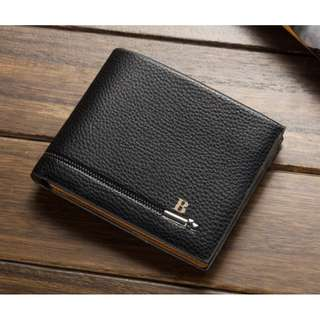 Baellerry Classic Men's Leather Wallet Black