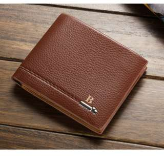 Baellerry Classic Men's Leather Wallet Brown