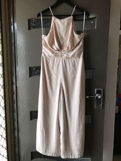 New White Closet Pink Jumpsuit