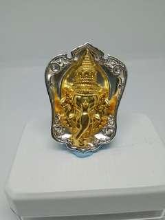 """Phra Pikanet / Ganesha """"Roon Pensuk Sumrej Somwang"""" Rian Amulet"""