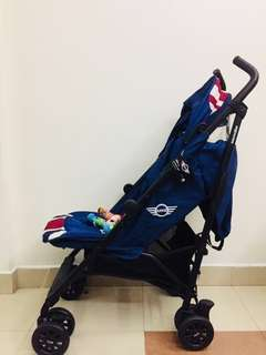 Mini Cooper Easywalker Stroller (Navy Blue)