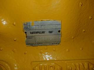 Caterpillar 3412 engines