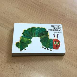 NEW Eric Carle The Very Hungry Caterpillar Boardbook