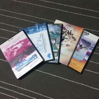 DVD Surfing & Snowboarding