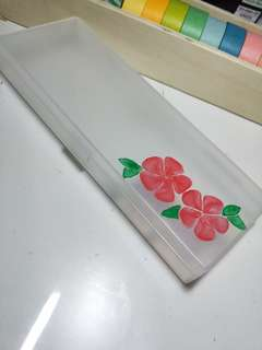 DIY Clear Pencil Cases