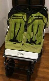 Mountain buggy duo double stroller