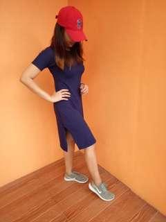 Two slit dress