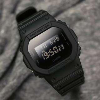 Casio G-Shock DW5600 Full Black BM