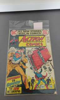 Action Comics dc bronze age