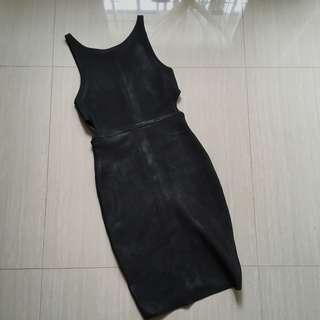 Bondage Dress with Cut Out Design