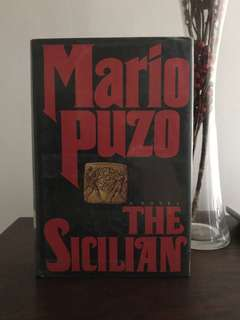 Collectors item Mario Puzo's The Sicilian- hardbound