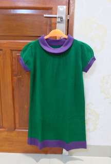Dress semi rajut