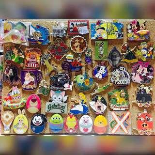 Disney pin 迪士尼 襟章 Group A