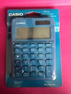 Brand New Casio Calculator MS-20UC-BU