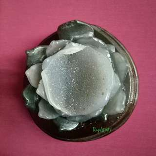 Collectibles Agate Crystal Carve Lotus #5