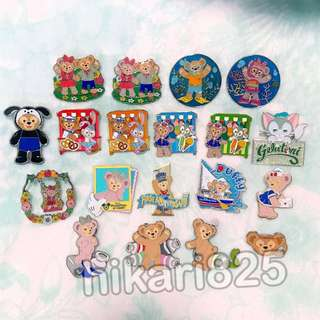 Disney pin 迪士尼 襟章 Duffy and friends Shelliemay Gelatoni