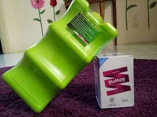 MaMom Vanilla Flavour & Cooler Reuseable Ice Brick