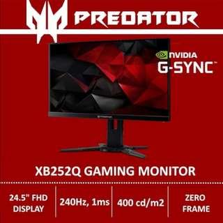 Predator XB252Q 24.5-inch G-Sync Monitor