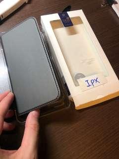 iPhone X 有蓋case 全新 包盒