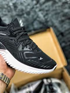 阿迪達斯 Adidas AlphaBounce HPC AMS 3M反光 阿爾法330小椰子 防滑緩震跑鞋
