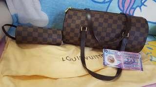 LV Louis Vuitton bag 圓筒袋