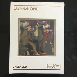 [WTS] Wanna One Undivided No 1 Sealed Album
