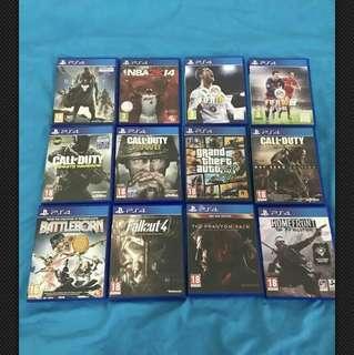 PS4 Games Bundle (MASSIVE JULY SALE!)