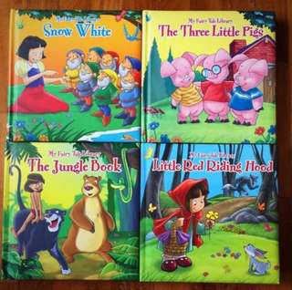 Children's Story Books - 4 books